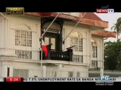 Secret doors and hiding places at the  Aguinaldo Shrine, revealed on Powerhouse