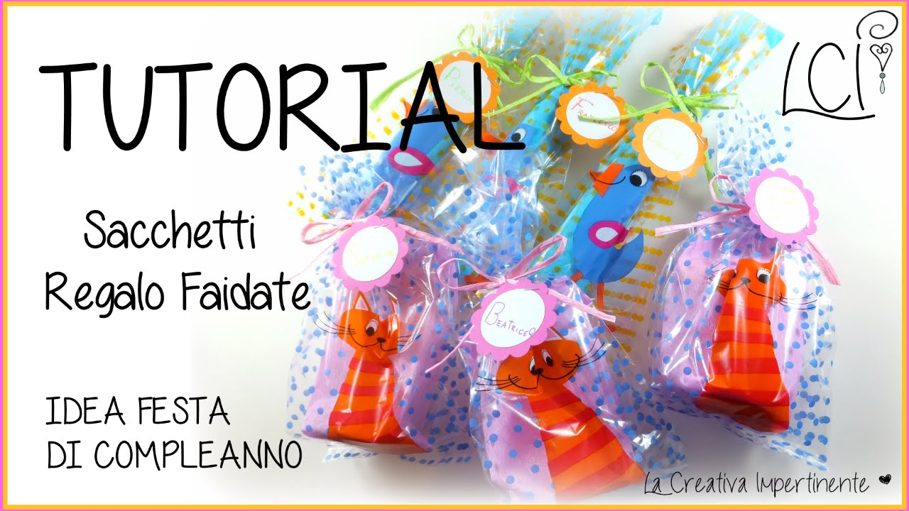 Diy Tutorial Idea Festa Sacchetti Regalo Semplicissimi Party
