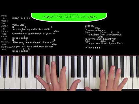 O Come To The Altar Keyboard Chords By Elevation Worship Worship