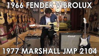 Pick of the Day - 1966 Fender Vibrolux Reverb and 1977 Marshall JMP 2104