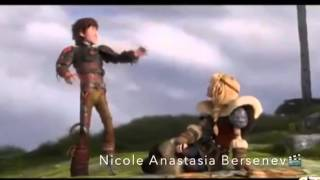 Hiccup x Astrid (featuring Valka and Stoik) in Adore you❤️