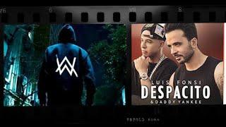 Download lagu On My Way Despacito Remix   Alan Walker&Sabrina Carpenter feat.Farruko YouTube · Trap G