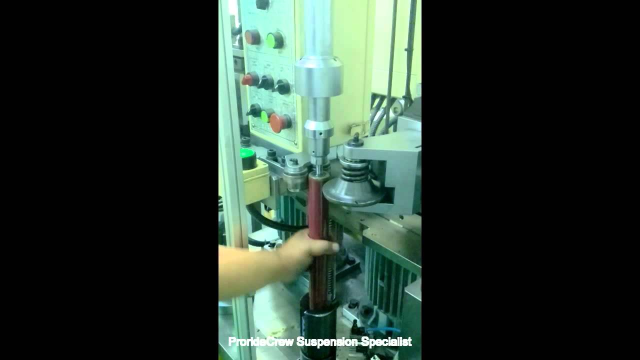 Proride Absorber Assembly Process