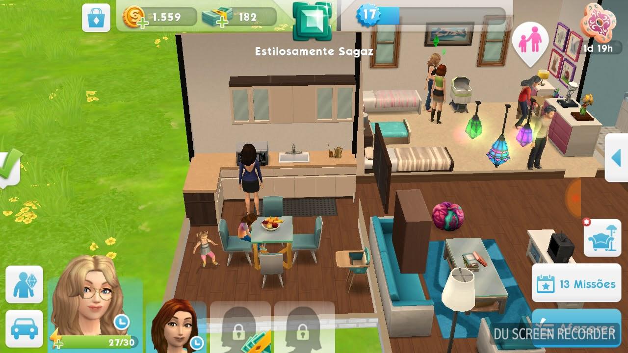 Como adotar um bebê no The Sims Mobile parte 1 - YouTube