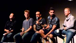 Backstreet Boys Cruise 2014 Q about Bsb the Movie