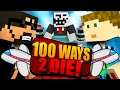 Minecraft: 100 WAYS TO DIE CHALLENGE - AIRPLANE DEATH!!