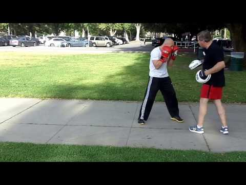 Milstead's Boxing And Fitness, John's Third Private Boxing Lesson, 41317, Round One