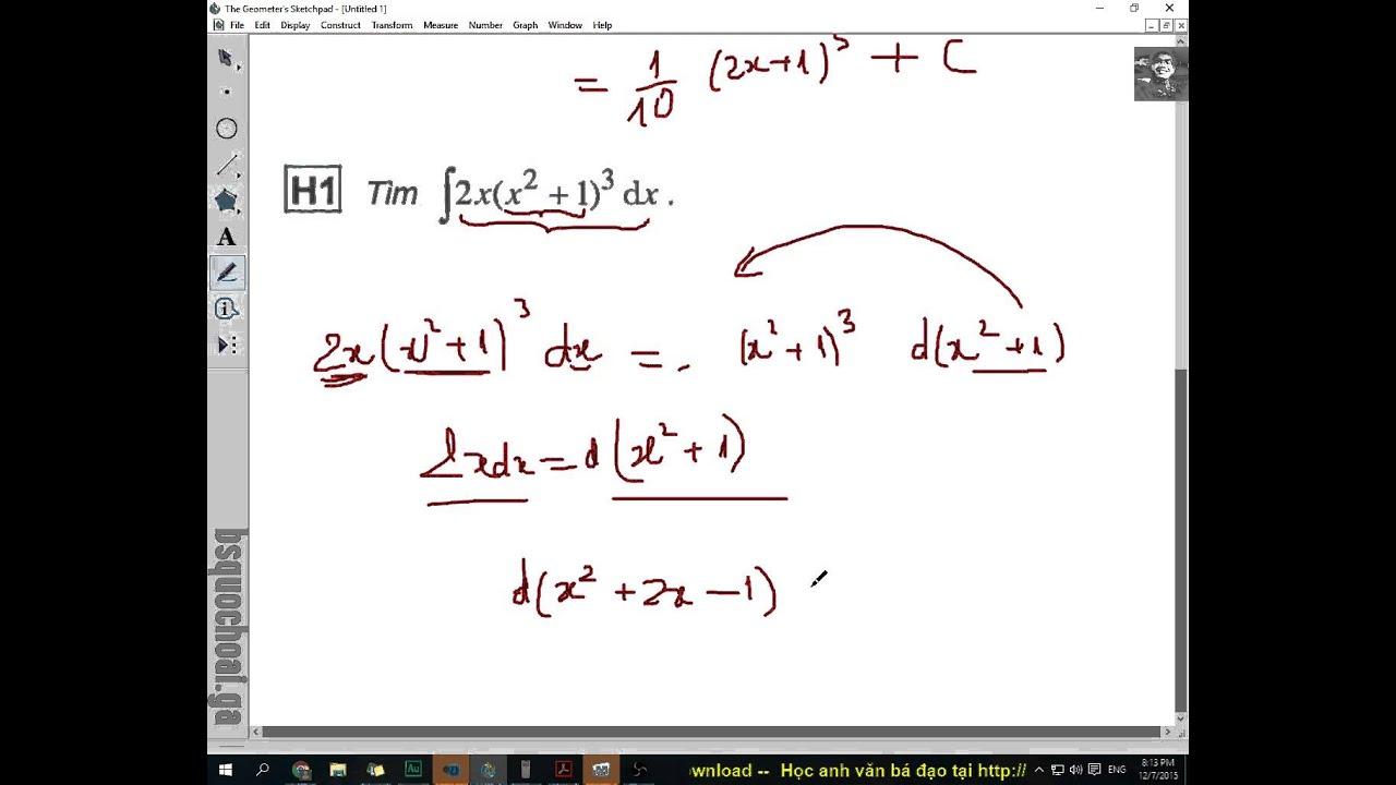 [TOÁN 12 NC] CHƯƠNG 3 – Tập 2: Bài 2 Hai phương pháp tìm nguyên hàm đặc hiệu cơ bản