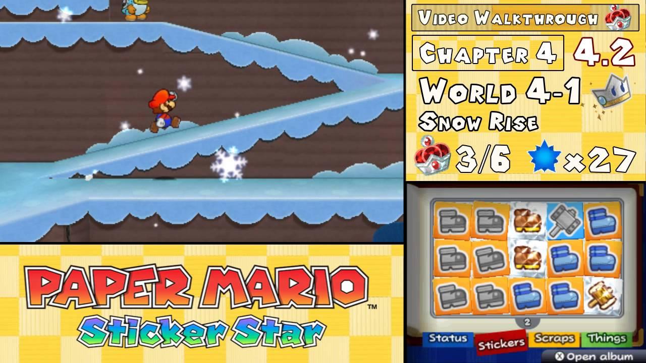 European Paper Mario: Sticker Star boxart