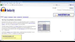 How to Install Audacity and the LAME MP3 Encoder