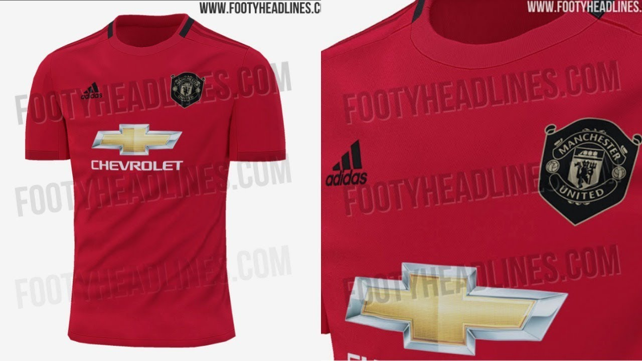 best choice 8cf43 2e28c Manchester United 2019/20 - Home Kit LEAKED?!