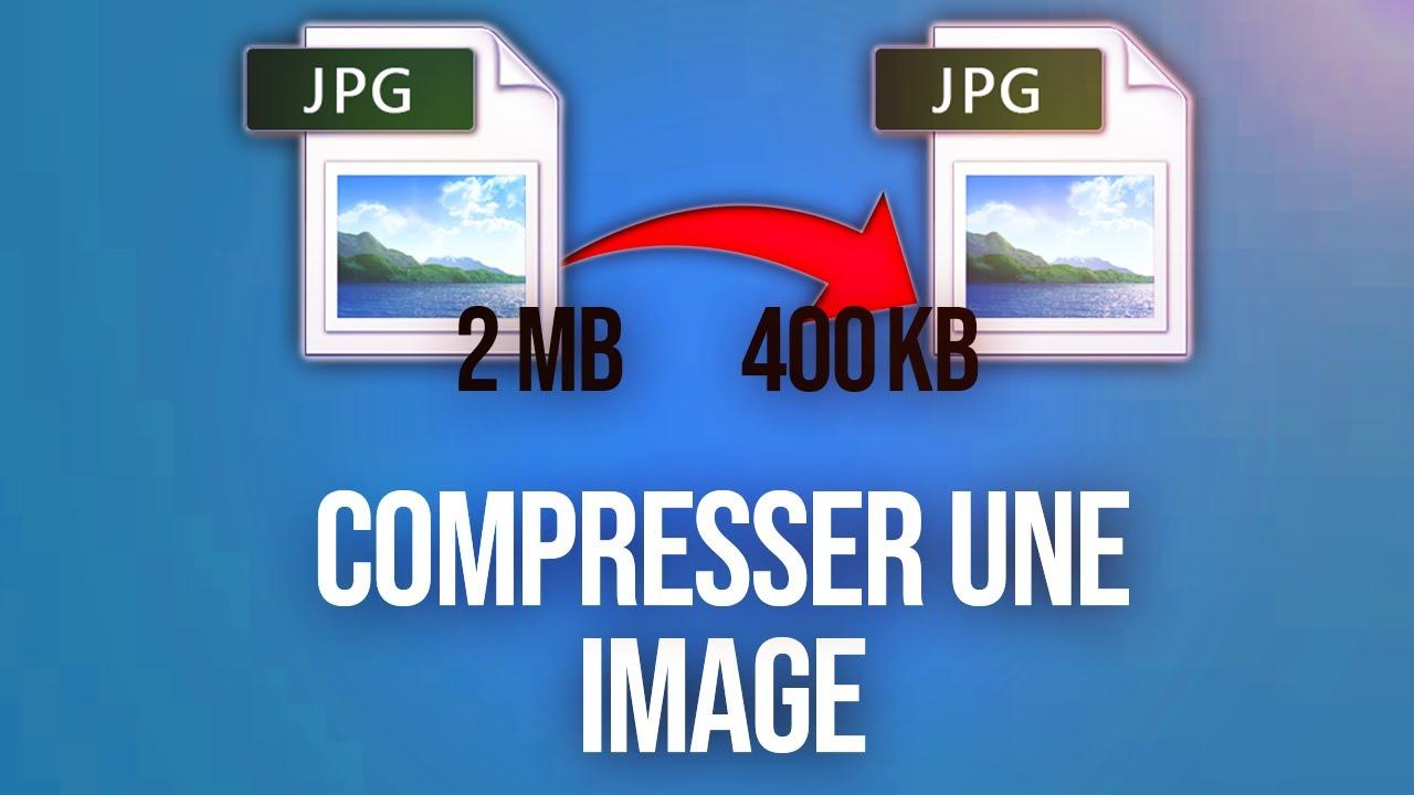 Comment Compresser une Image Rapidement et Sans Logiciel