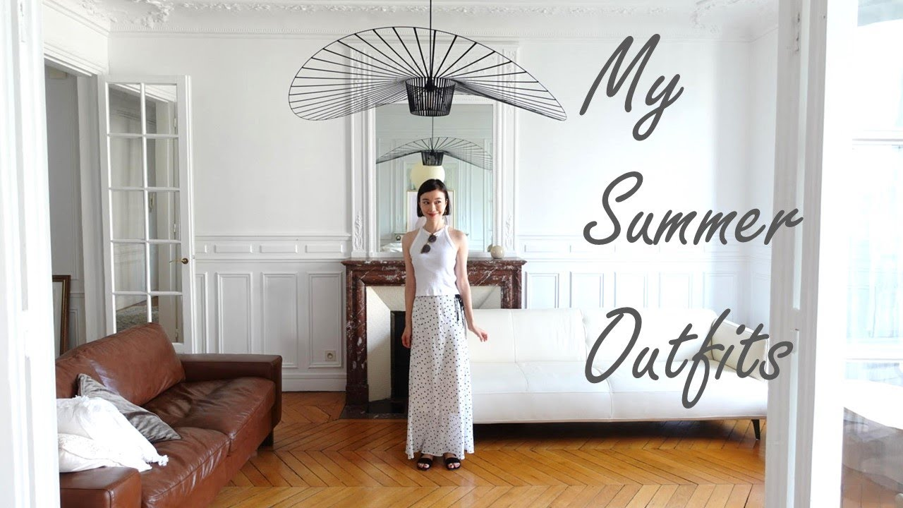 【Mom in Paris】Cut my hair by 20cm, my summer outfits with my new short hair