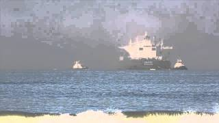 evil fog swallows ship whole