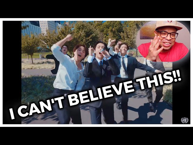 BTS Performs 'Permission to Dance' at United Nations (REACTION)