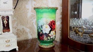 DIY   Beautiful  Flower  Vase    Home Decor Ideas