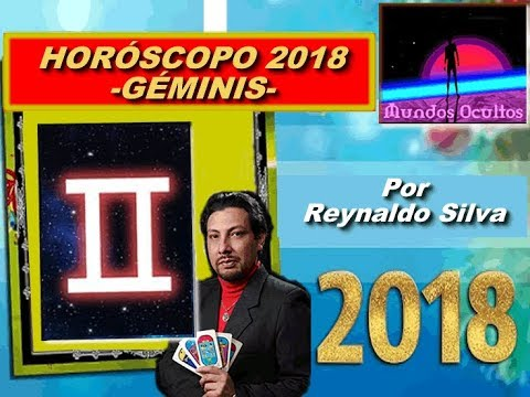 Horóscopo 2018 para el signo de géminis, por Reynaldo Silva