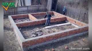 видео Процесс строительства дома из газобетонных блоков - фотоотчет.