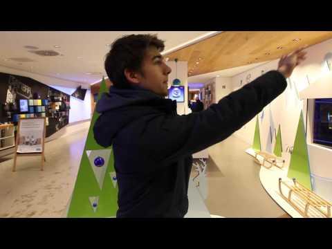 Play, Win and Follow - Beaming Arts im O2 Flagshipstore Berlin