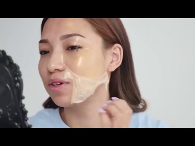 Cledbel Miracle 24k Gold Lifting Mask Collagen | Instant Face Lift Anti Aging Indonesia Demellind