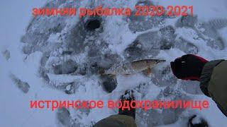 зимняя рыбалка 2020 2021 Подмосковная рыбалка на Истринском водохранилище