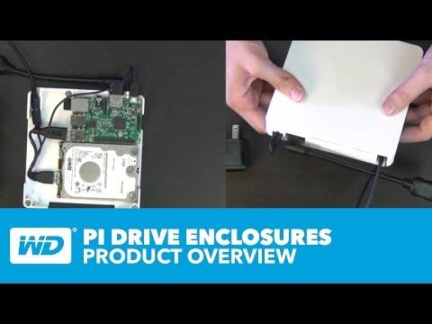 PiDrive Foundation Edition: Raspberry Pi hard drive - The