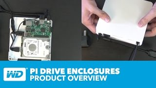 WD PiDrive Enclosures Official Product Overview