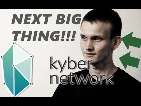 KYBER NETWORK - DECENTRALIZED CRYPTO MARKET + SMART CONTRACTS - VITALIK BUTERIN- BEST CRYPTO COIN