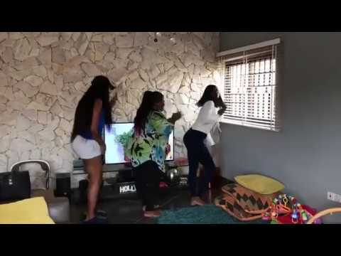 Yvonne Nelson and friends perform Akwaaba Dance