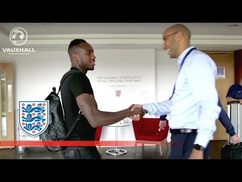 Allardyce's first England squad arrive at St George's Park | Inside Access