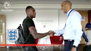Allardyce's first England squad arrives at St George's Park | Inside Access
