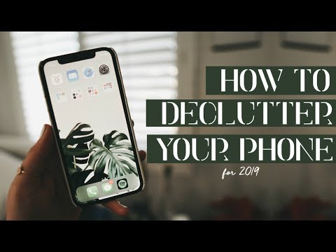 ✨ DECLUTTER YOUR PHONE ✨ | Organizing tips & tricks (minimalist)
