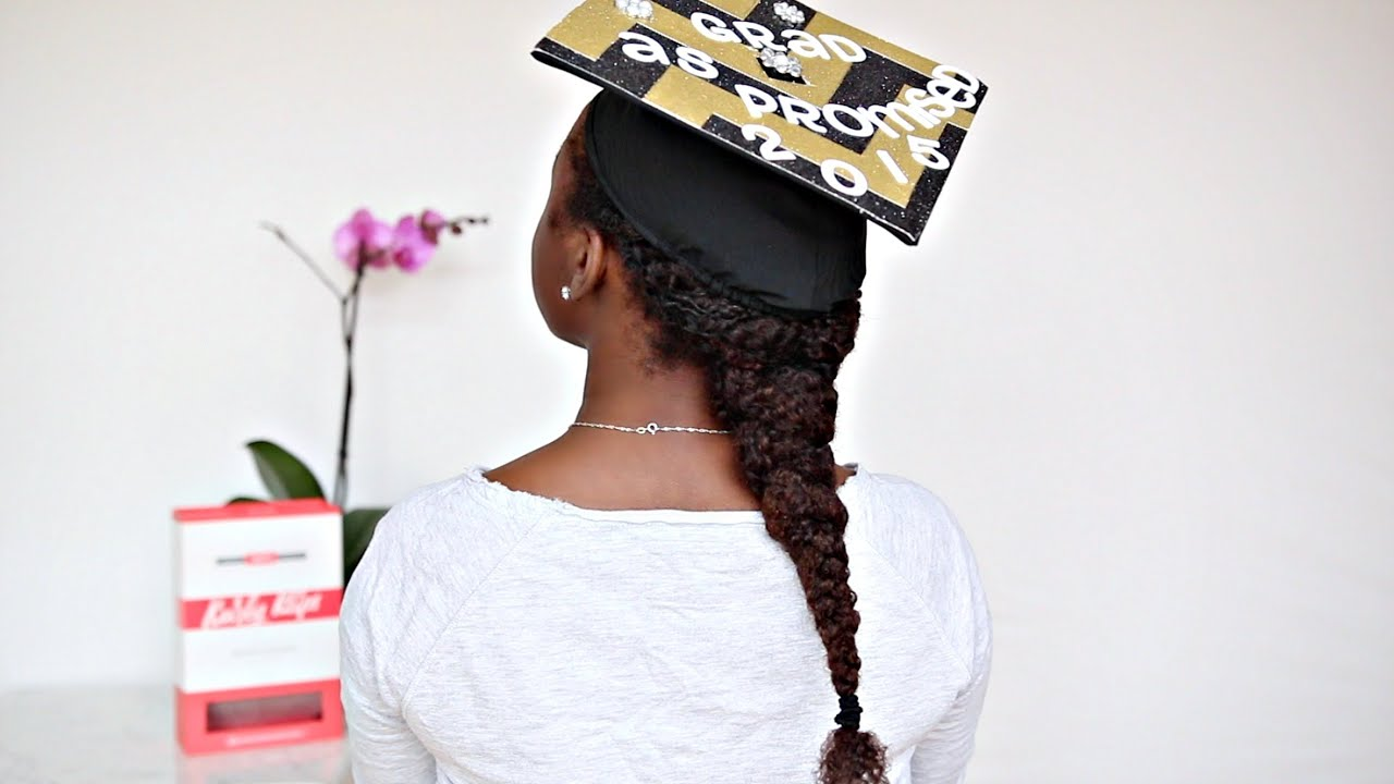 Grad Hairstyles: Klippin It With Jas: Graduation Cap Hairstyles Part 1