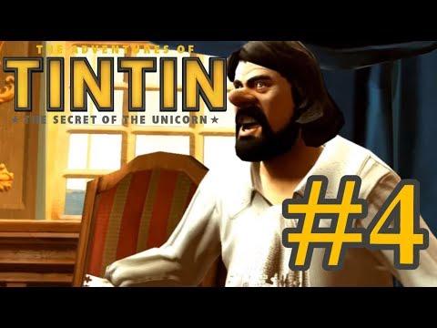 Прохождение Приключение Тинтина [#4 Ну держитесь, пираты!]