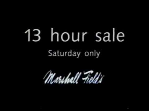 Marshall Fields ad, 2000s