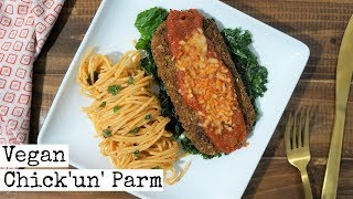 Vegan Chicken Parm Recipe (Vegan Valentine's Day Food)