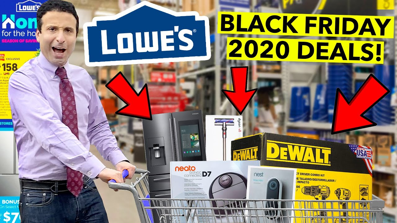 Top 10 Lowes Black Friday Deals 2020 Youtube