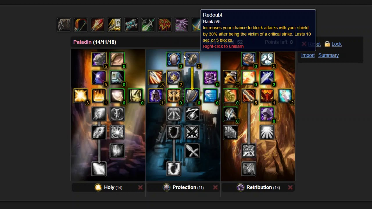 WoW Classic Paladin - The Best Leveling Spec - YouTube
