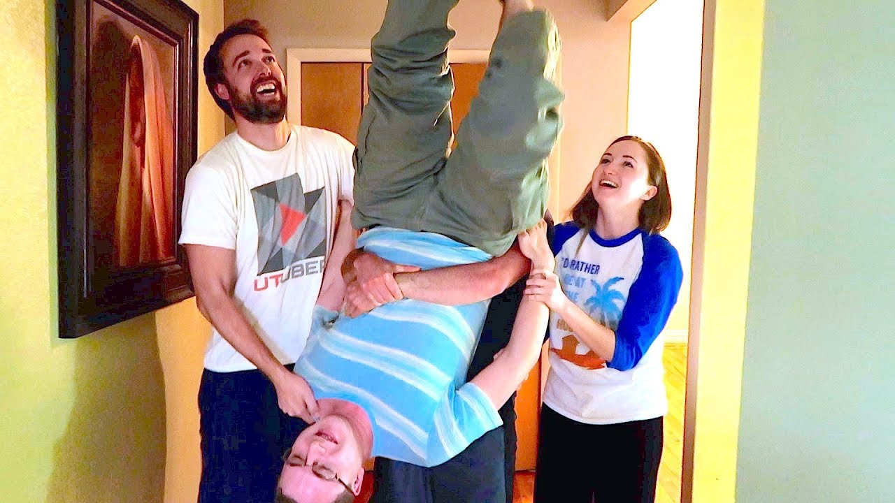 WALKING ON THE CEILING! - YouTube