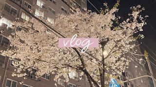 vlog #1) 집순이 대학생 브이로그 하루종일 먹고 …