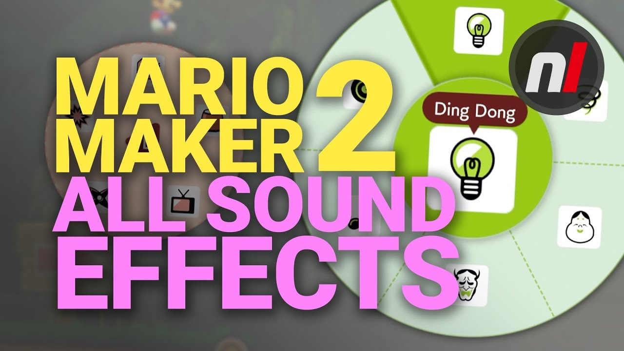 ALL Sound Effects in Super Mario Maker 2 on Nintendo Switch (So Far)