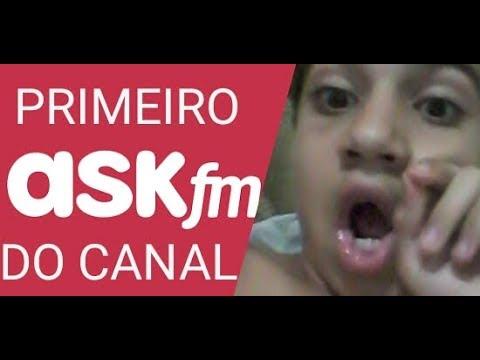 PRIMEIRO ASK DO CANAL//G4abriel Fresh