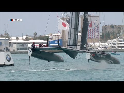 Day Five - America's Cup Qualifiers // SoftBank Team Japan