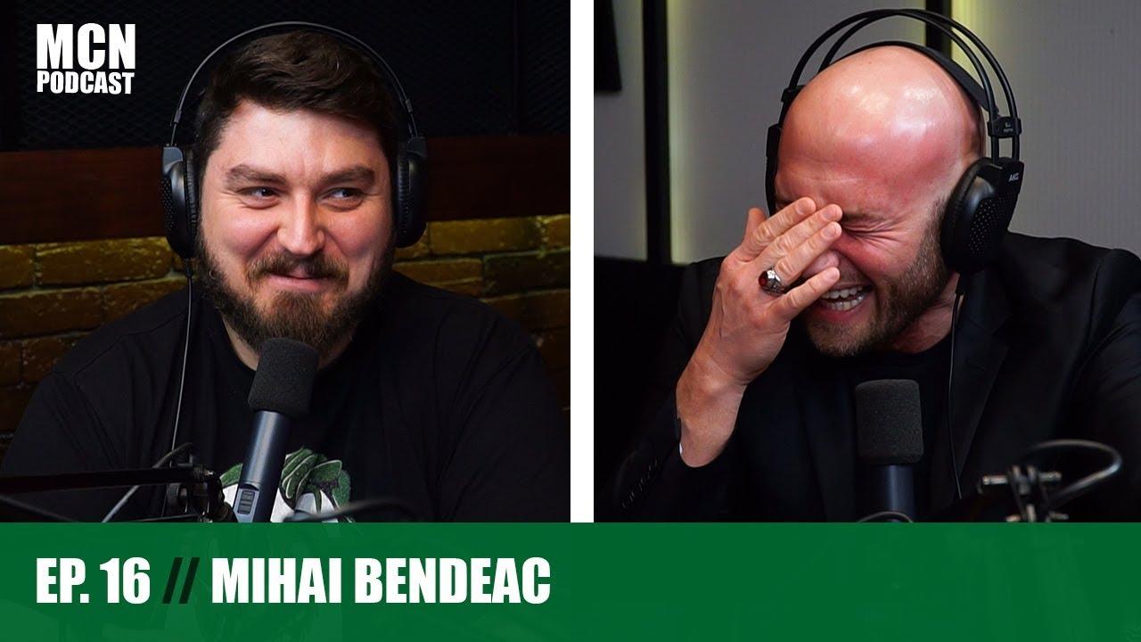 """M.C.N. Podcast 16   Mihai Bendeac: """"Vreau să fac pentru Netflix o mini-serie despre Ceaușescu"""""""