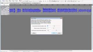 Using Audacity to split an audio file into multiple tracks