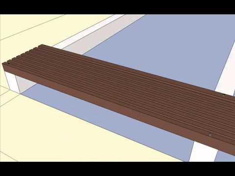 Terras bangkirai tropisch hout youtube - Terras hout ...