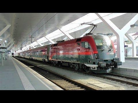 Railjet Rj662 From Salzburg To Innsbruck Youtube