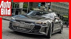[REUPLOAD] Audi e-tron GT Concept (2018) Erste Fahrt / Test / Review