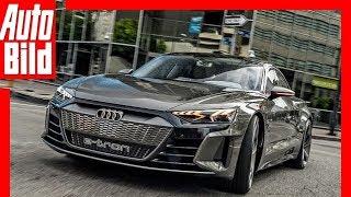 Gambar cover [REUPLOAD] Audi e-tron GT Concept (2018) Erste Fahrt / Test / Review