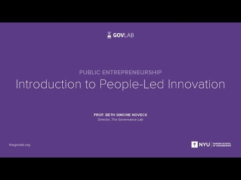 People-led Innovation: Public Entrepreneurship | Barcelona